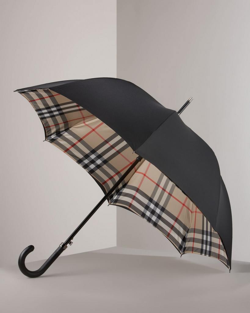 burberry-black-camel-check-lined-umbrella-product-1-2821747-424994357
