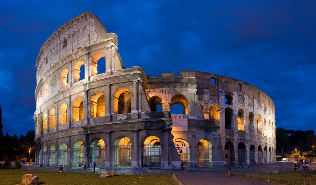 Kolosseum-in-Rom-Italien